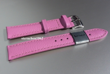 Barington * Lederband für Uhren * Uhrenarmband * Fancy * flieder * 22 mm