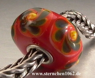 Trollbeads * Rote Weihnacht * Rot 4.1