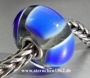 Original Trollbeads * Blaue Symmetrie * retired * 02