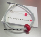 Original Trollbeads * Mit Liebe * Rotes Kreuz Charity Armband * Limited Edition