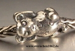 Original Trollbeads * Niedlicher Teddybär * retired