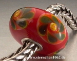 Trollbeads * Rote Weihnacht * Rot 4.4