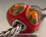 Trollbeads * Rote Weihnacht * Rot 4.5